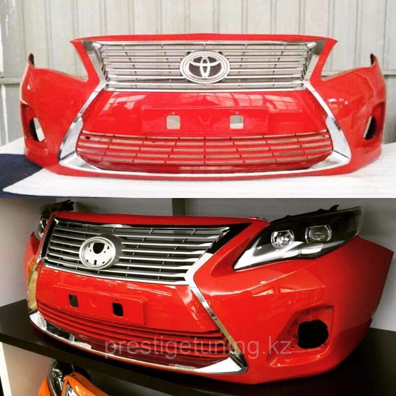 Передний бампер на Corolla 2007-13 Lexus style
