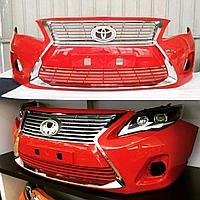 Передний бампер на Corolla 2007-13 Lexus style, фото 1