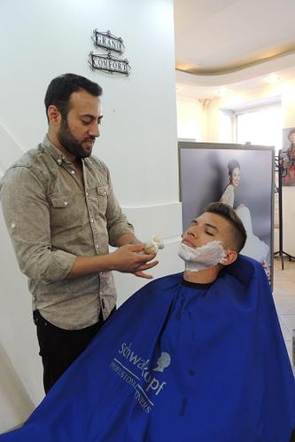 Стрижка+SPA+бритье бороды