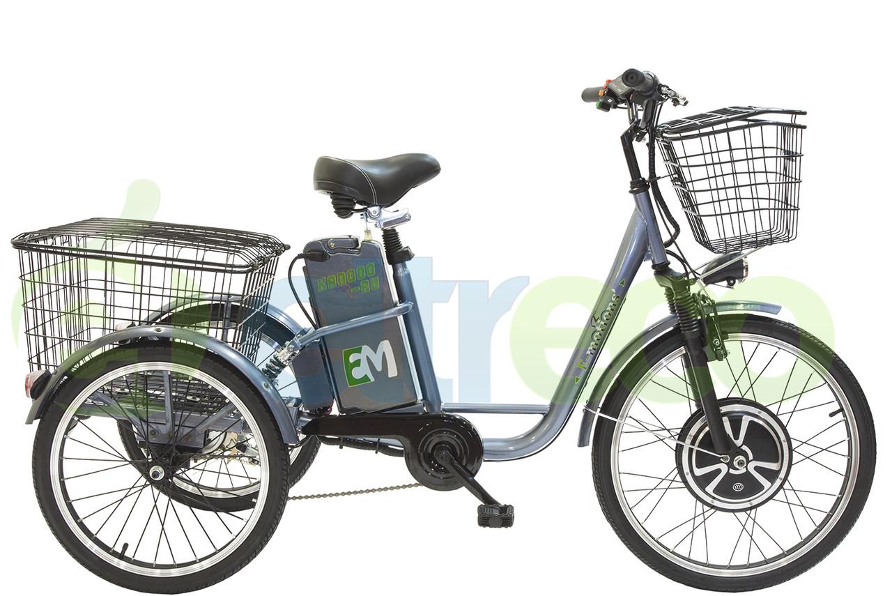 Трицикл E-motions Kangoo 500W