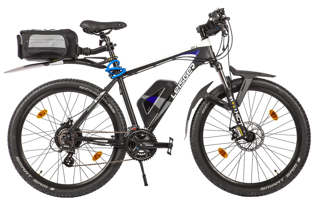 Велогибрид (электровелосипед) Leisger MD5 Basic 27,5 Black