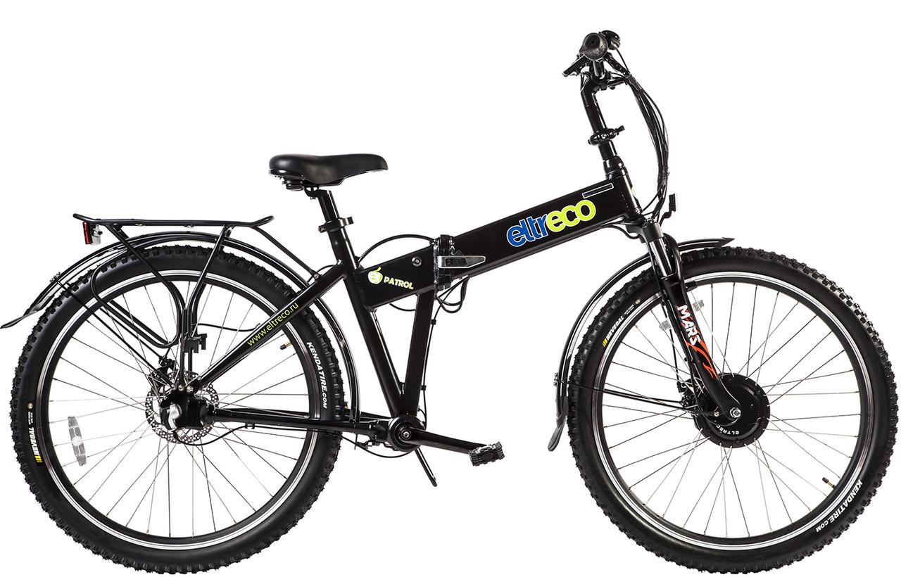 Велогибрид (электровелосипед) Eltreco Patrol Кардан 28 Disk Brake