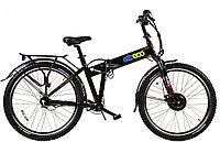 Велогибрид (электровелосипед) Eltreco Patrol Cardan 28
