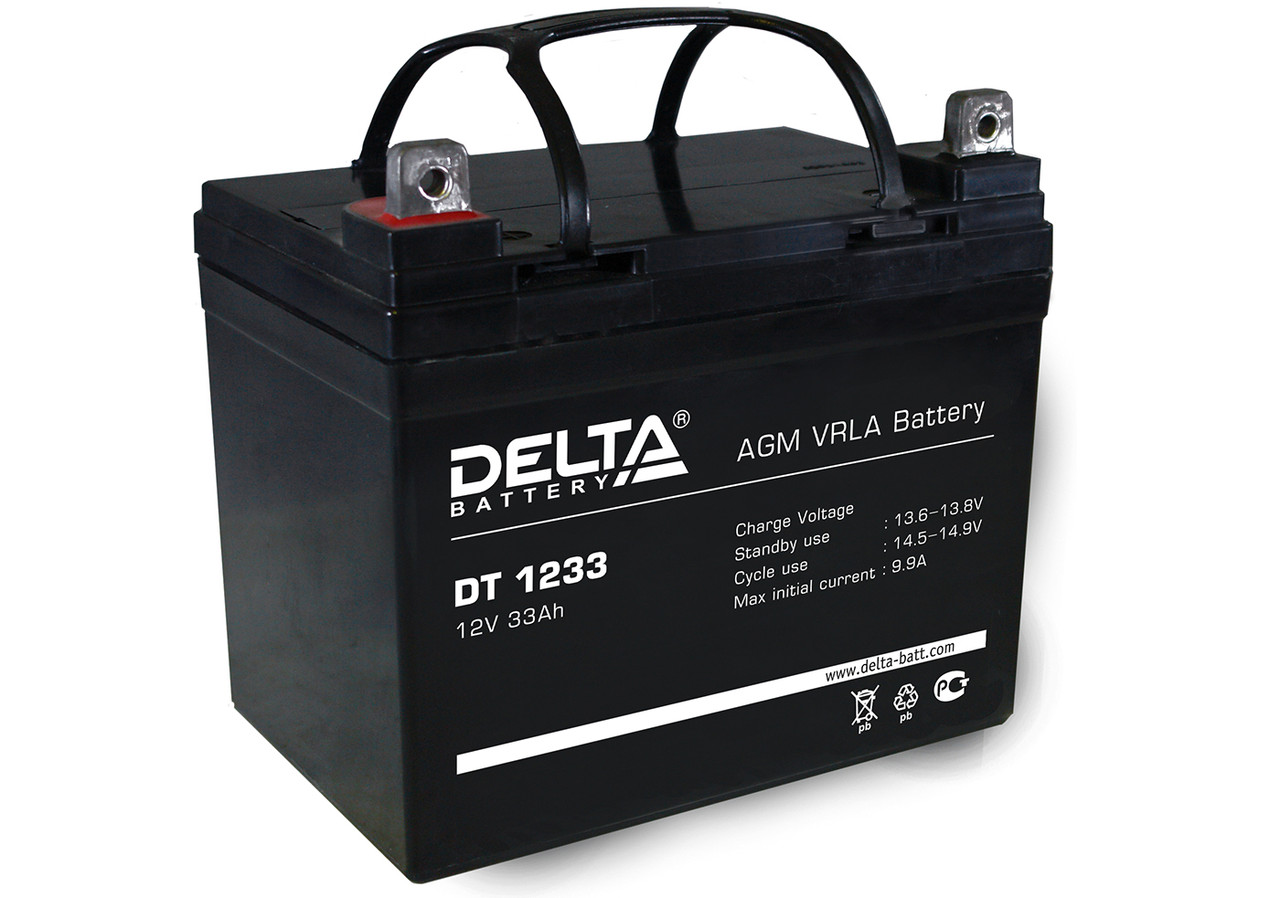 АКБ Delta DT 1233