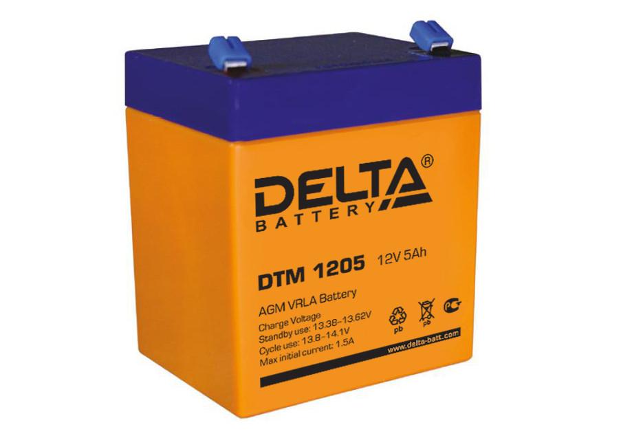 АКБ Delta DTM 1205