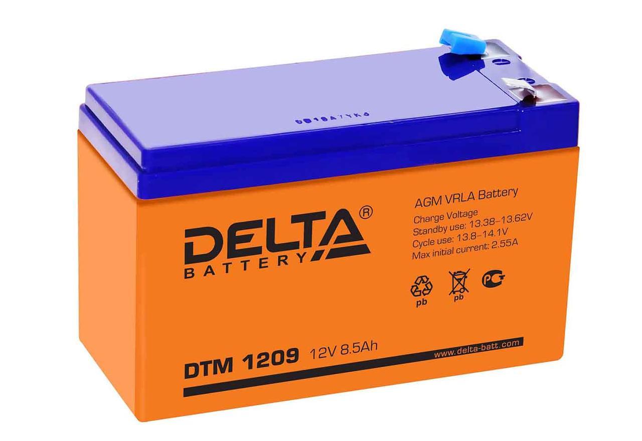 АКБ Delta DTM 1209