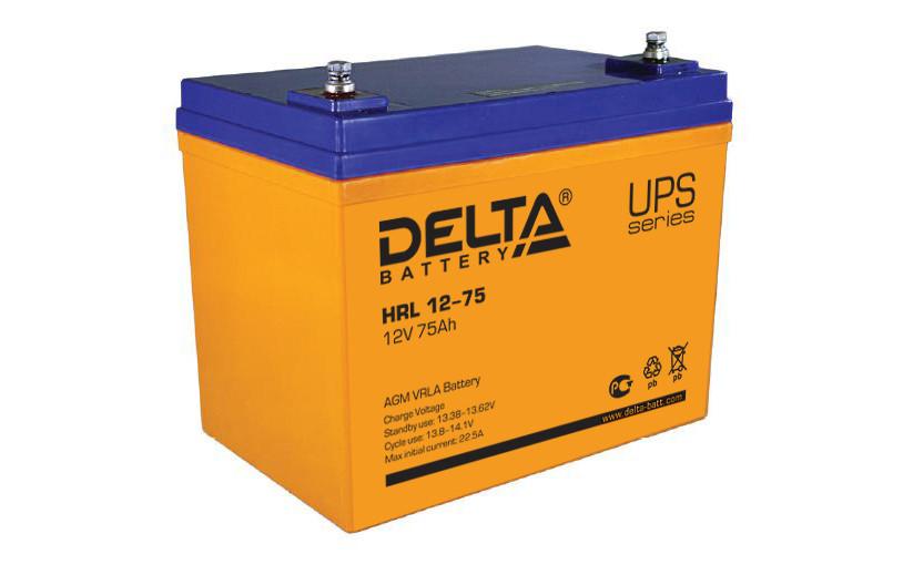 АКБ Delta HRL 12-75