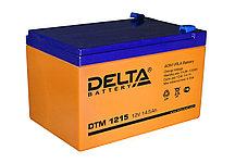 АКБ Delta DTM 1215