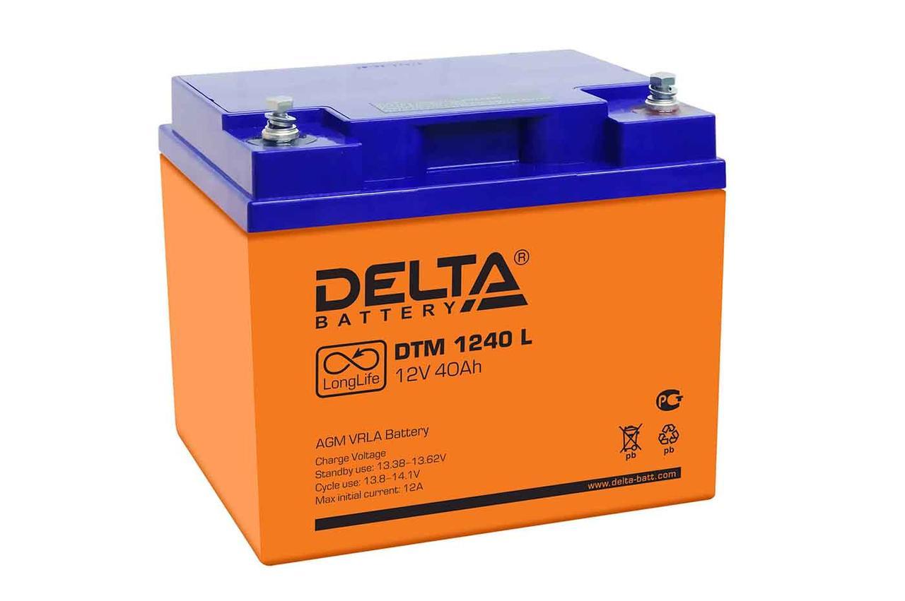 АКБ Delta DTM 1240 L