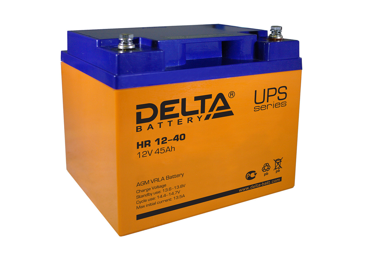 АКБ Delta HR12-40