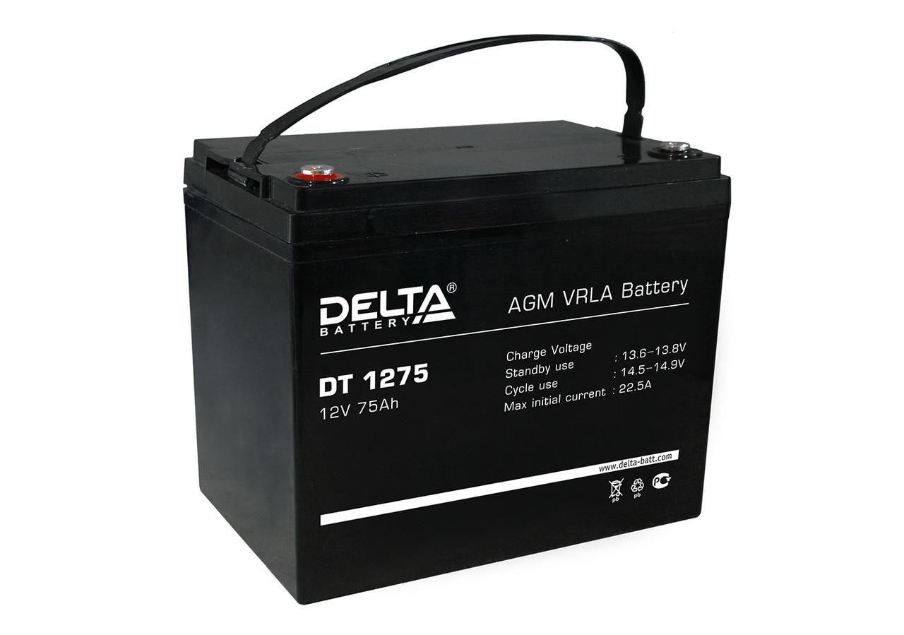 АКБ Delta DT 1275