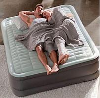 Надувная Велюр кровать Intex 64486 (203х152х46 см)