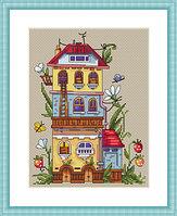 """Набор для вышивания крестом """"Летний домик"""""""