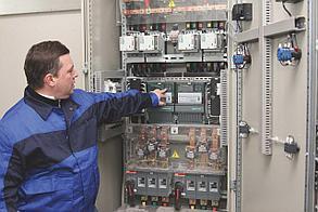 Наладка шкафов телемеханики автоматизированной системы контроля и учёта энергоресурсов