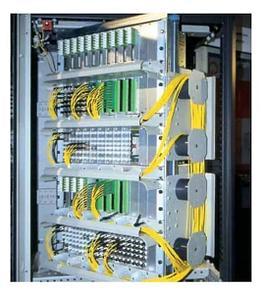 Установка и наладка шкафов волоконно-оптической связи