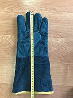 Спилковый краги пятипалые с подкладкой BC grade