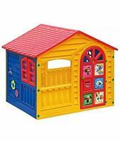 """Детский пластиковый домик """"Белка-Стрелка"""" Marian Plast 362"""