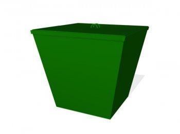 Контейнер для мусора с крышкой МФ-1.12.04.01