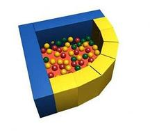Сухой бассейн с шариками «Фасолька» ДМФ-МК-09.48.00