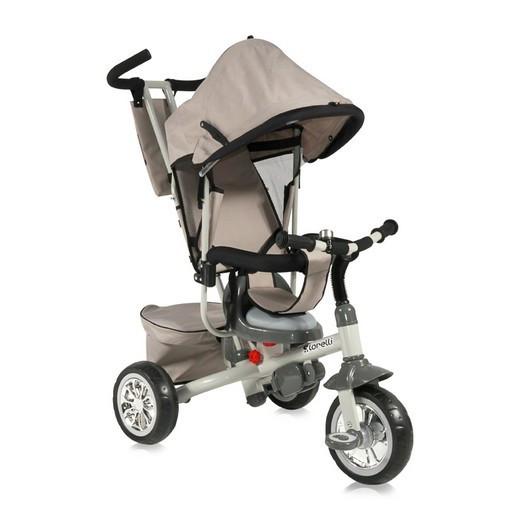 Велосипед Bertoni/Lorelli B302A Бежево-серый / Biege&Grey 1601
