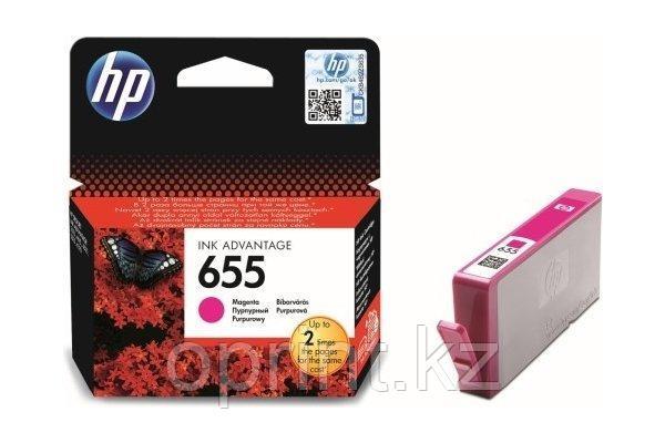 Акция Картридж HP 655  пурпурный