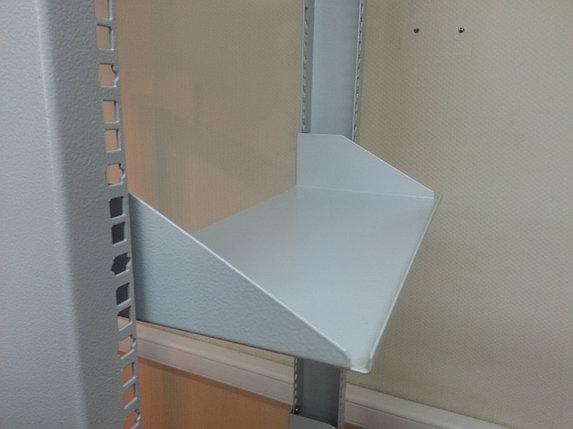 Полка консольная перфорированная МиК креп. за 1 раму до 25 кг 2U 200mm, фото 2