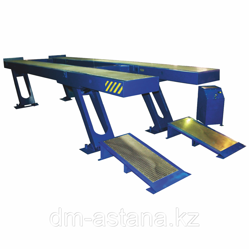 Четырехстоечный подъемник для грузовых автомобилей г/п 24 тонны, ЧЗАО