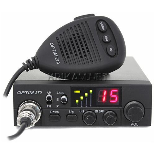 Автомобильная радиостанция Optim 270