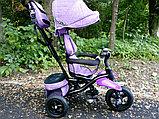 Детский трехколесный велосипед с поворотным сиденьем (6188), фото 5
