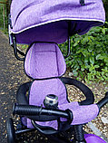 Детский трехколесный велосипед с поворотным сиденьем (6188), фото 6