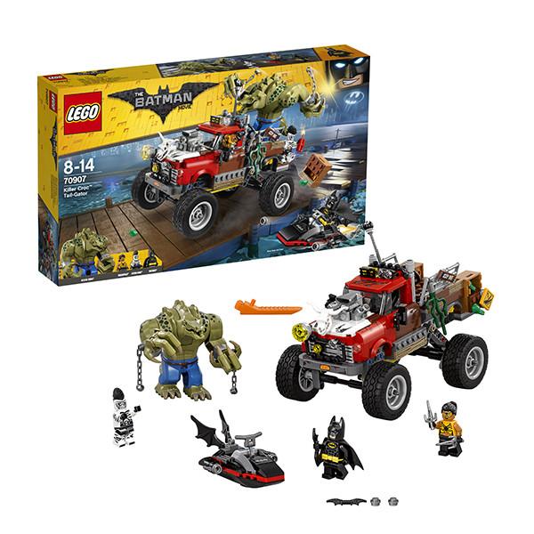 LEGO ЛЕГО Фильм: Бэтмен Хвостовоз Убийцы Крока