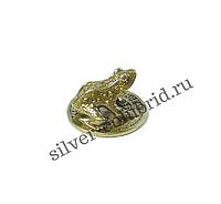 Сувенир жаба на монете миллион рублей