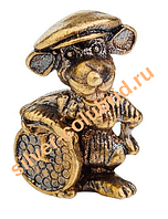 Сувенир мышка на удачу в кошелек Адлер