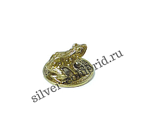 Сувенир жаба на монете миллион рублей Адлер