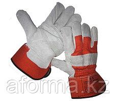 Перчатки спилковые GS