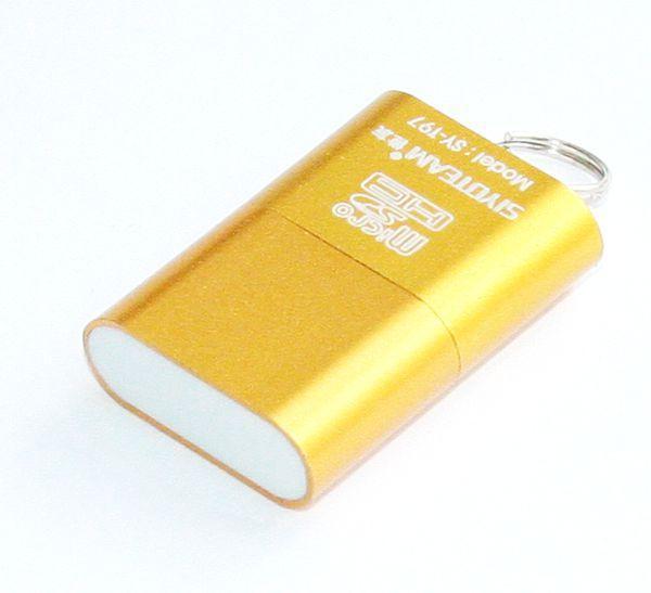 Картридер внешний Siyoteam SY-T18 USB 2.0 MicroSD