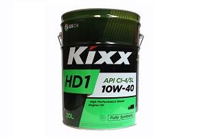 KIXX HD1 10W-40 синтетическое дизельное масло 20л.