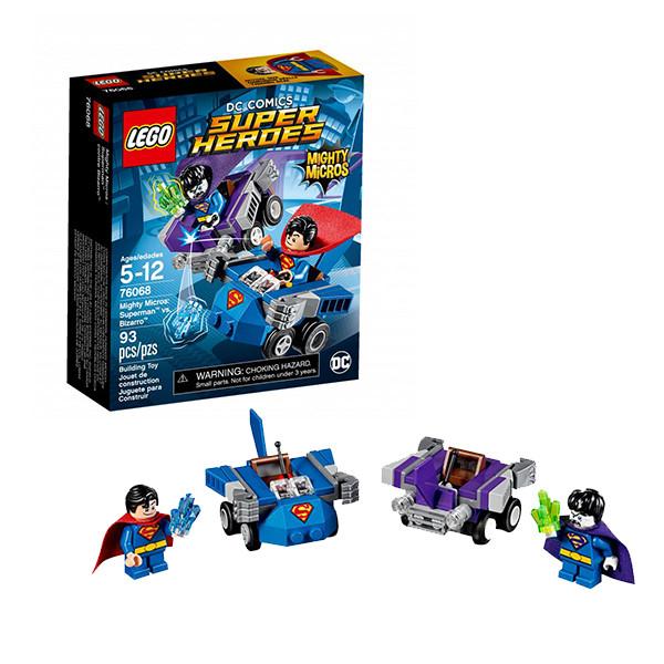 LEGO Супер Герои Mighty Micros: Супермен™ против Бизарро™