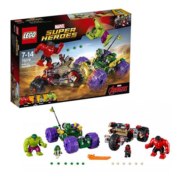 LEGO Супер Герои Халк™ против Красного Халка™