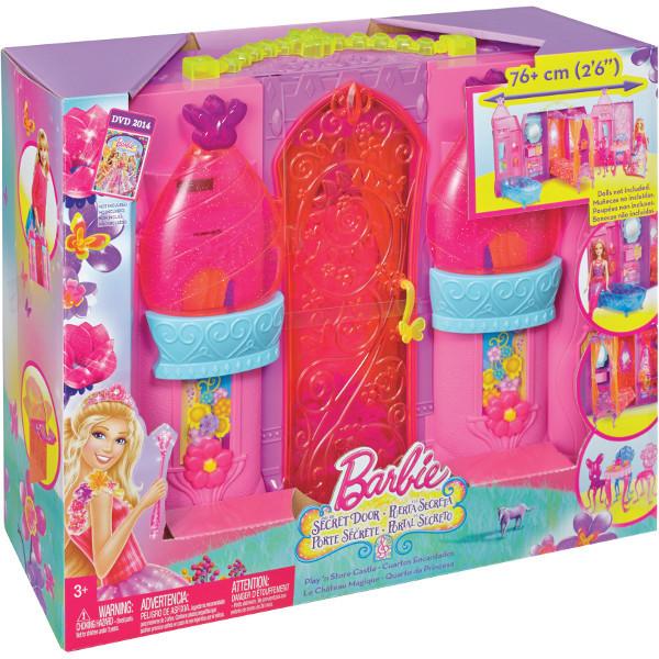 """BarbieBLP41 Барби Дворец складной с аксессуарами, из мультфильма """"Барби и Потайная дверь"""""""