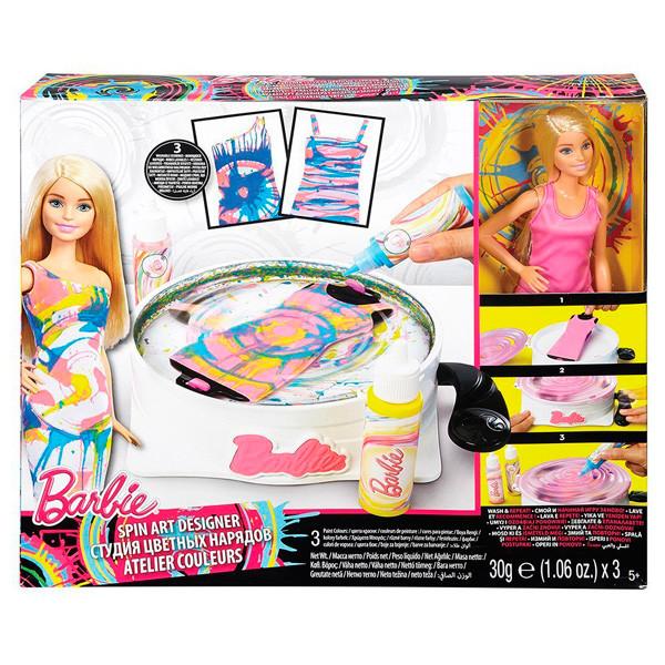 Barbie DMC10 Модный мир. Студия цветных нарядов+кукла