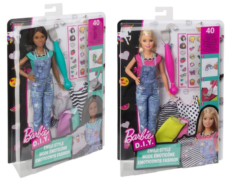 Barbie DYN92 Игровой набор Barbie «EMOJI»