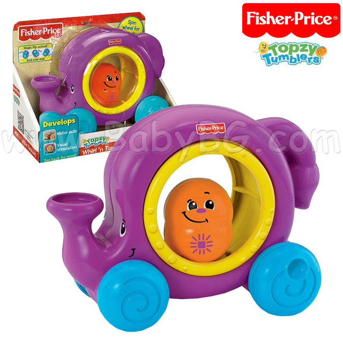 Fisher price W2799 Слоненок с колесиками