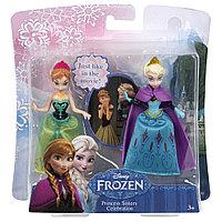 """Mattel DFR78 Игровой набор """"Сестры-принцессы Анна и Эльза"""" 20х7х21см"""