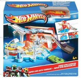 """Hot Wheels X9295 Игровой набор """"Автомойка/Гараж"""" в ассортименте"""