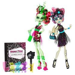 Monster High BJR17 Зомбированная вечеринка. Венера-Рошель