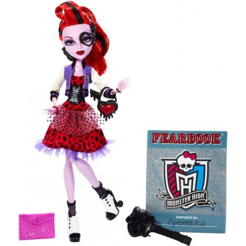 """Monster High Y7696 """"День фотографии"""" Оперетта"""