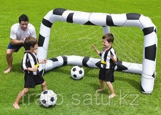 Футбольные ворота и мячики 213x122x137см, Bestway