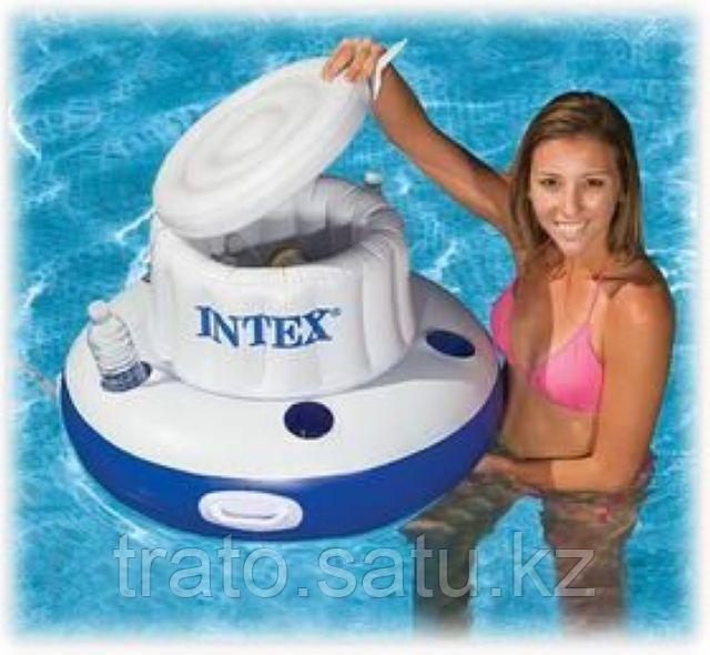 Плавающий надувной бар для охлаждения напитков, диаметр 79 см