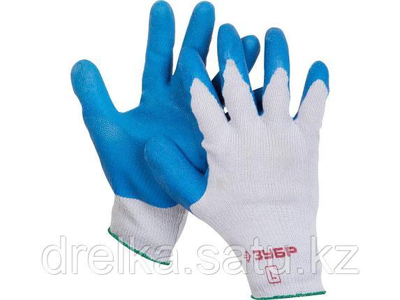 Перчатки рабочие с резиновым рельефным покрытием, фото 2